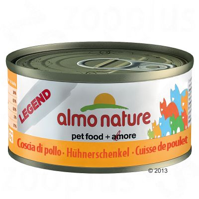 Almo Nature Legend, carne, 6 x 70 g