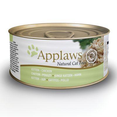 applaws katzenfutter in jelly 6 x 70 g g nstig bei zooplus. Black Bedroom Furniture Sets. Home Design Ideas