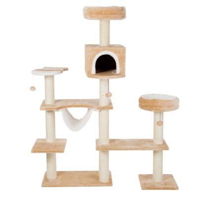 maison en pain d 39 pice arbre chat zooplus. Black Bedroom Furniture Sets. Home Design Ideas