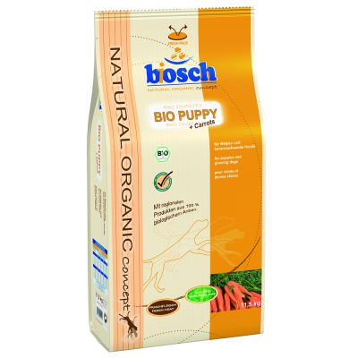 bosch bio puppy hundefutter g nstig bei zooplus. Black Bedroom Furniture Sets. Home Design Ideas