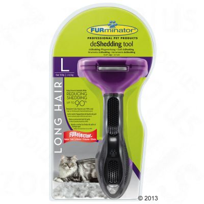 furminator deshedding brosse pour chat zooplus. Black Bedroom Furniture Sets. Home Design Ideas
