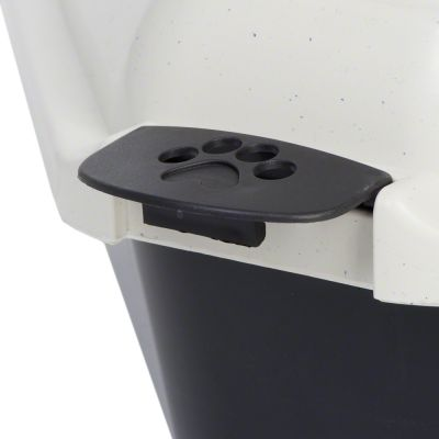 Cassetta igienica angolare