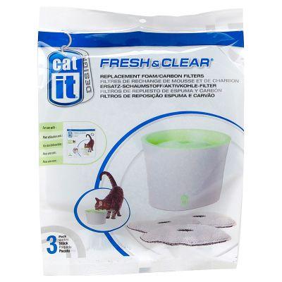 Catit Design Fresh & Clear Trinkbrunnen, 2 Liter