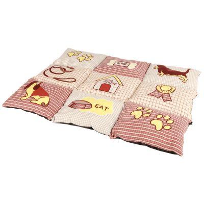 Trixie patchwork couverture pour chien zooplus - Couverture pour petit chien ...