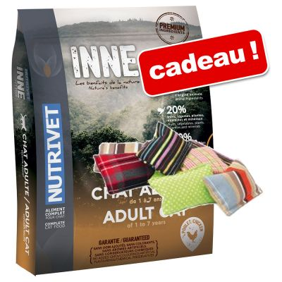 croquettes pour chat nutrivet zooplus croquettes nutrivet inne cat 6 kg coussin de jeu. Black Bedroom Furniture Sets. Home Design Ideas