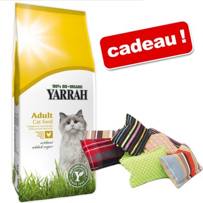 croquettes bio pour chat yarrah zooplus croquettes yarrah 10 kg coussins de jeu aum ller. Black Bedroom Furniture Sets. Home Design Ideas
