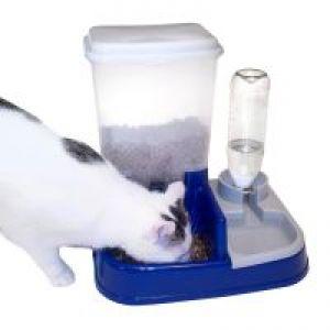 Distributore di acqua e cibo 2in1 zooplus for Cibo tartarughe acqua