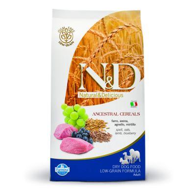 Farmina N&D Low Ancestral Grain Adult Medium con cordero y arándanos