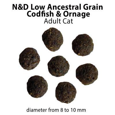 Farmina N&D Low Grain Adult Cat Merluzzo e Arancia