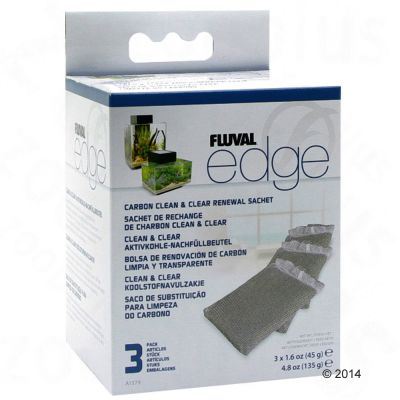 Filtros de carbón activo Fluval Edge