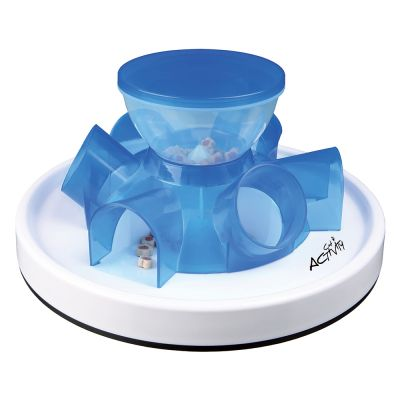 trixie cat activity tunnel feeder gamelle et jeu pour chat zooplus. Black Bedroom Furniture Sets. Home Design Ideas