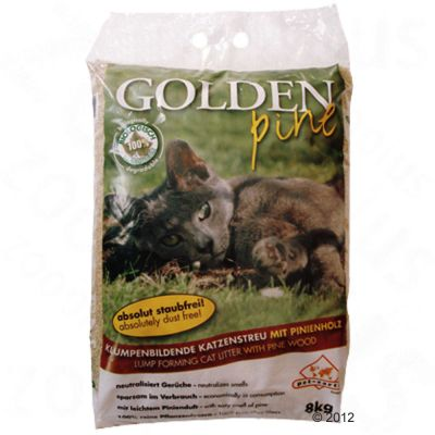 Golden Pine Cat Litter