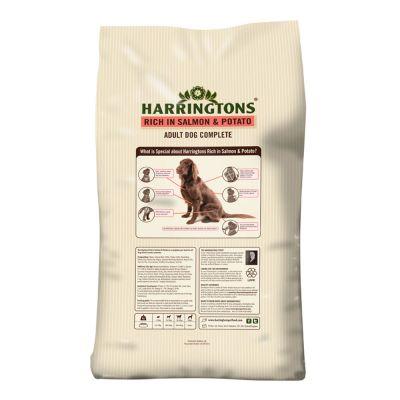 Harringtons Salmon And Potato Dog Food Feeding Guide