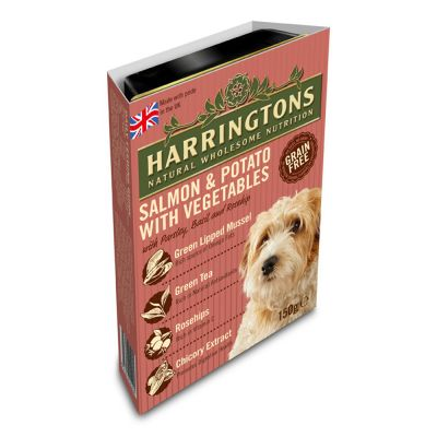 Harringtons Salmon And Potato Dog Food Ingredients