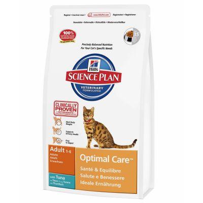 Hill's Adult Optimal Care con atún para gatos