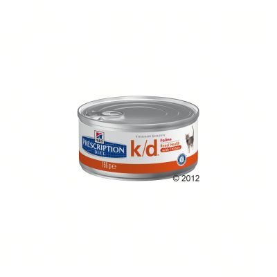 Hill's k/d con pollo Prescription Diet latas para gatos