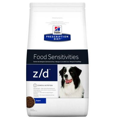 hill 39 s prescription diet canine z d food sensitivities croquettes pour chien zooplus. Black Bedroom Furniture Sets. Home Design Ideas