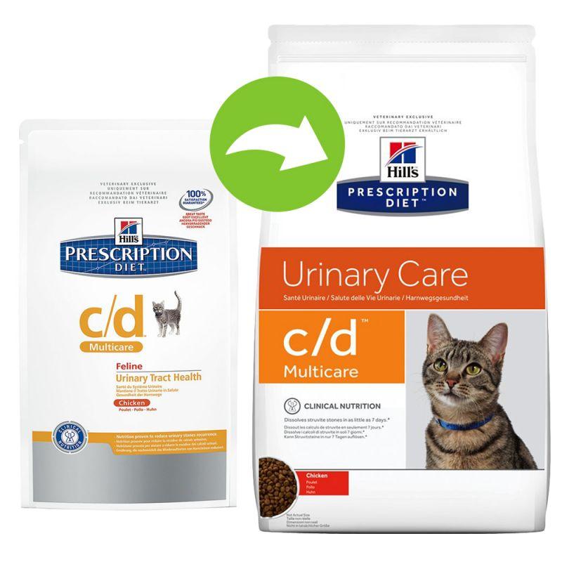 croquettes pour chat Hill's prescription diet c/d