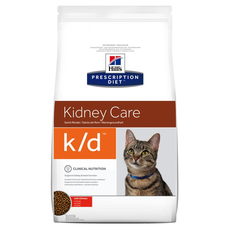 Hill's Prescription Diet Feline k/d Kidney Care | Free P&P £29+ at zooplus!
