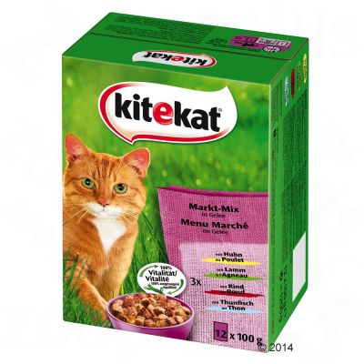 Kitekat Cat Food Ingredients