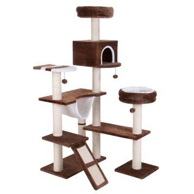 kratzbaum knusperh uschen mit leiter g nstig kaufen bei zooplus. Black Bedroom Furniture Sets. Home Design Ideas