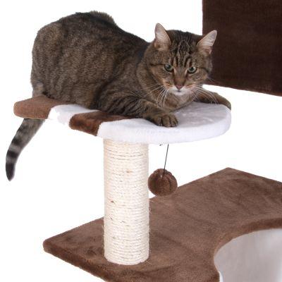 kratzbaum knusperh uschen mit leiter g nstig kaufen bei. Black Bedroom Furniture Sets. Home Design Ideas