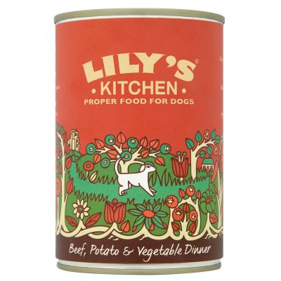 Lily's Kitchen Beef, Potato & Vegetable Dinner for Dogs
