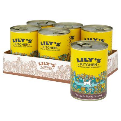 Lily's Kitchen Homestyle Chicken & Turkey Casserole for Dogs