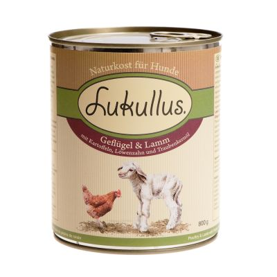 Lukullus Dry Dog Food Feeding Guide