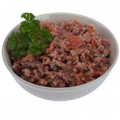 Lukullus Menu Gustico Veal with Oats, Pear & Leeks