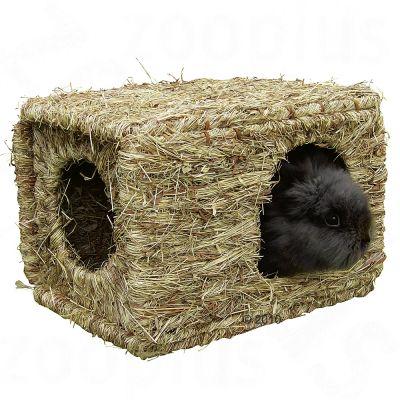maison en herbe s ch e pour rongeur et lapin xl prix. Black Bedroom Furniture Sets. Home Design Ideas