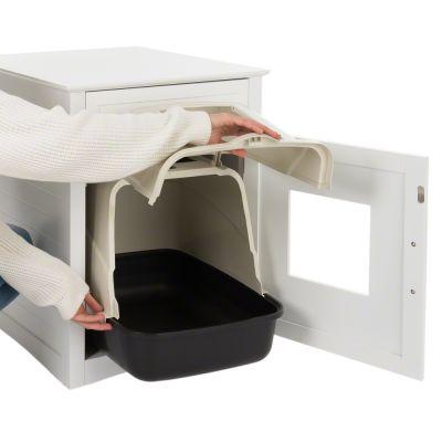 pet room en bois maisonnette pour chat ou petit chien zooplus. Black Bedroom Furniture Sets. Home Design Ideas