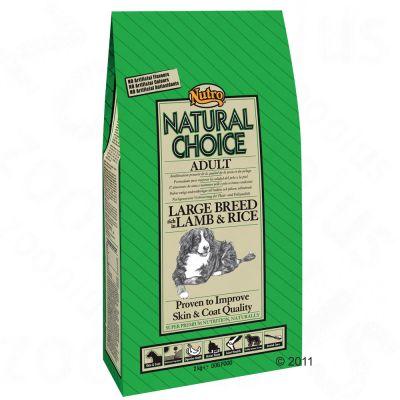 Nutro Natural Choice Adult razas grandes Cordero y arroz