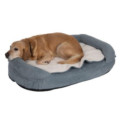 Memory panier ovale pour chien zooplus - Panier orthopedique pour chien ...