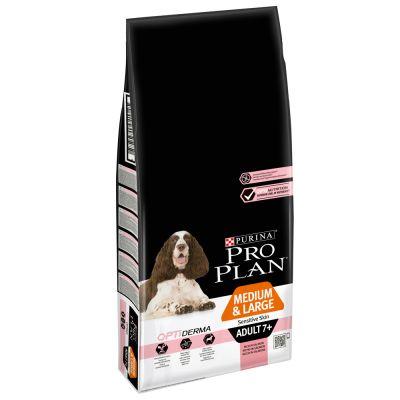 PRO PLAN Medium/Large Adult 7+ Sensitive Skin saumon