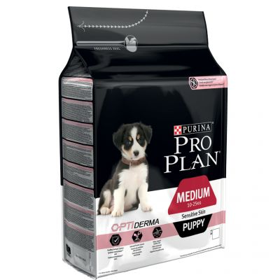 purina pro plan puppy medium sensitive skin optiderma salmon. Black Bedroom Furniture Sets. Home Design Ideas