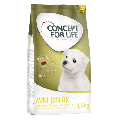 Probierpaket: 1,5 kg Concept for Life + 6 x 400  g Rocco