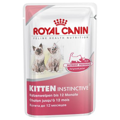 Royal Canin Kitten Instinctive In Salsa Zooplus