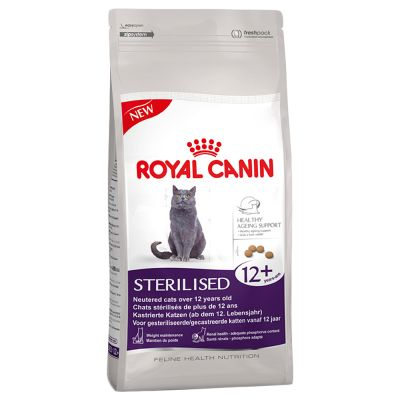 royal canin senior ageing sterilised 12 pour chat croquettes pour chat zooplus. Black Bedroom Furniture Sets. Home Design Ideas