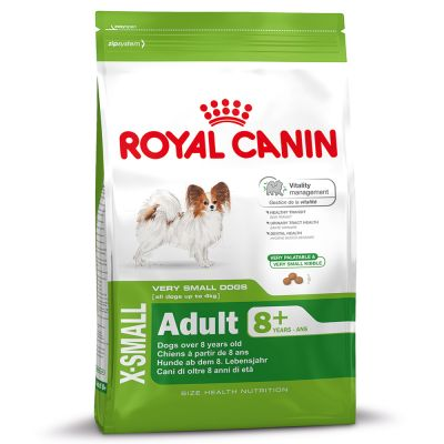 royal canin x small adult 8 free p p 29 at zooplus. Black Bedroom Furniture Sets. Home Design Ideas