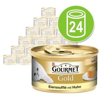 gourmet gold eiersouffl 24 x 85 g g nstig bei zooplus. Black Bedroom Furniture Sets. Home Design Ideas