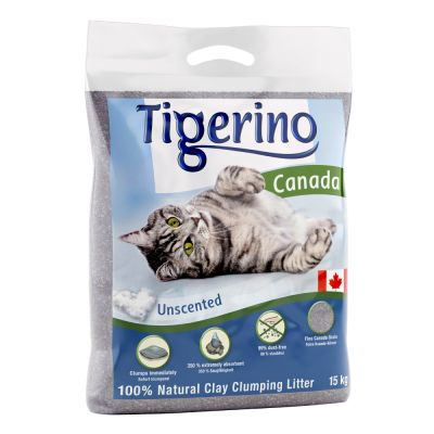 Tigerino Canada Cat Litter – unscented