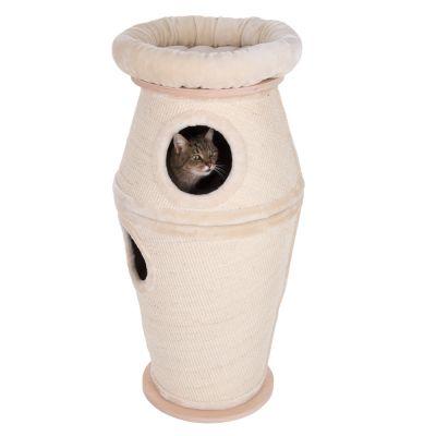 tour griffer natural paradise amphore pour chat animalerie en ligne zooplus. Black Bedroom Furniture Sets. Home Design Ideas