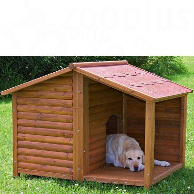 Buda dla psa trixie natura z przedsionkiem tanio w zooplus - Cucce per cani ikea ...