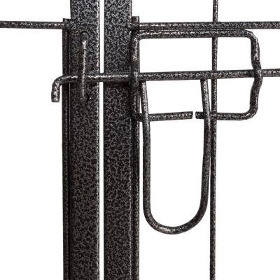 welpenfreilaufgehege aus metall. Black Bedroom Furniture Sets. Home Design Ideas