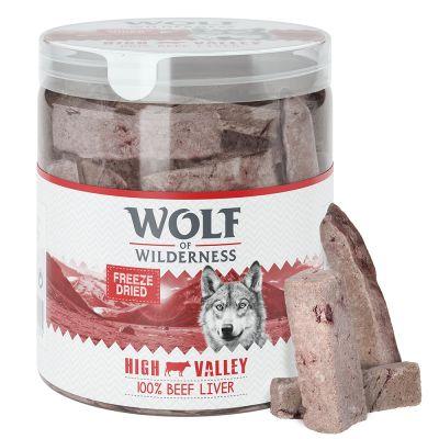 Wolf of Wilderness snacks liofilizados premium - Pack Ahorro 4 unidades
