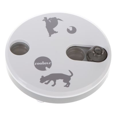 zoolove Jeu d'intelligence Spinning Wheel pour chien