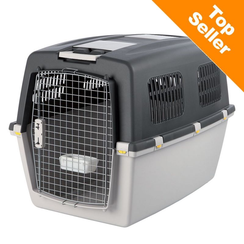 Attach Dog Crate To Kennel